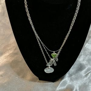 3 in 1 necklace Faith , hope ,love Necklace